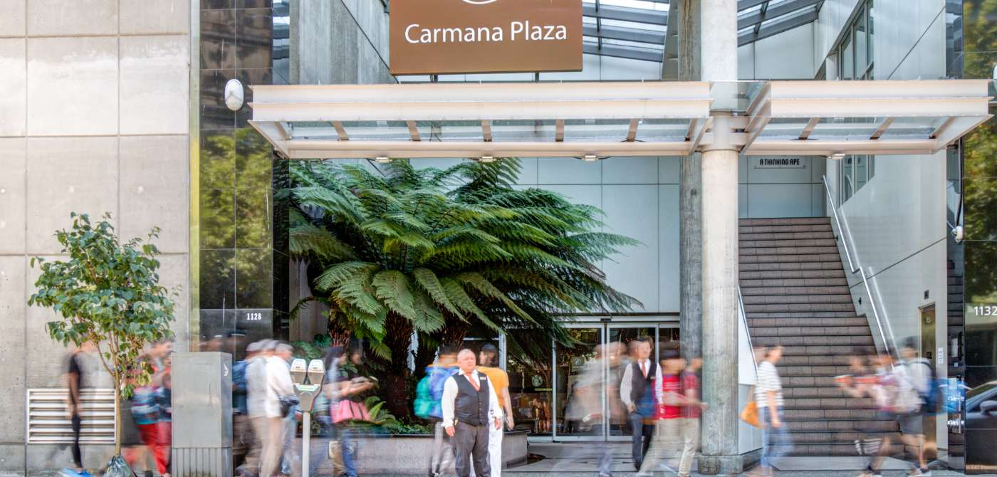 carmana plaza our location